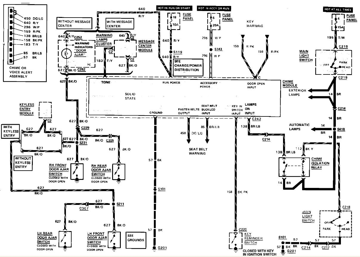 Mark Viii Jbl Wiring Diagram 28 Images The Forum Viewing Topic 38969 Wire For 93 Radio 88tc Warning Chime I Need Help With A Deck Install On 1988 Tc Lincolns